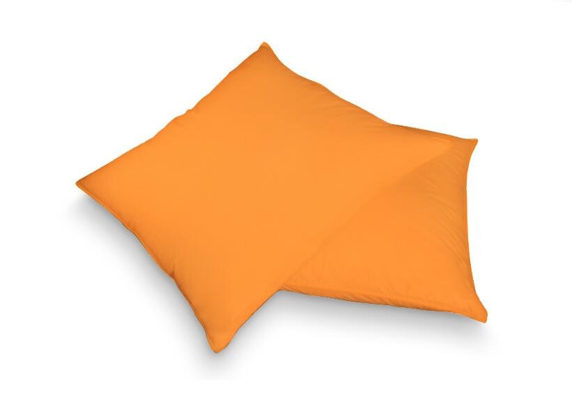 Povlak na polštář oranžová 40 x 60 cm - jersey