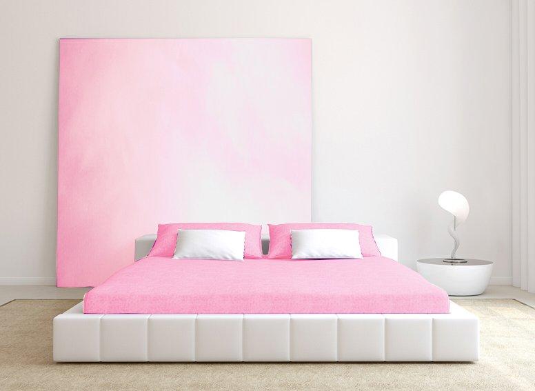 Prostěradlo froté růžová 60x120cm