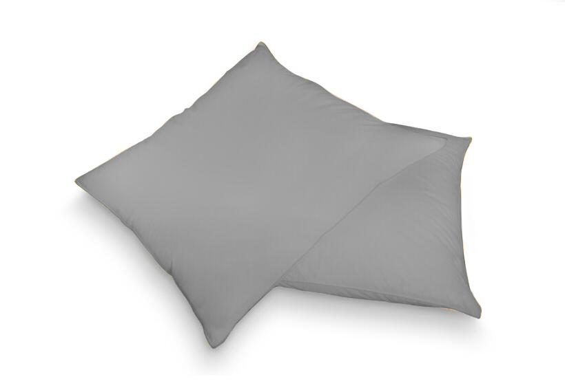 Povlak na polštář šedá 40 x 60 cm - jersey