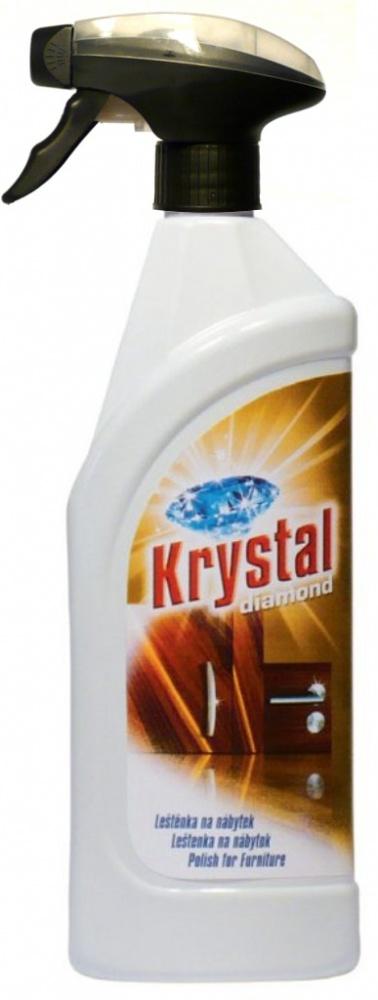 Leštěnka na nábytek Krystal 750 ml