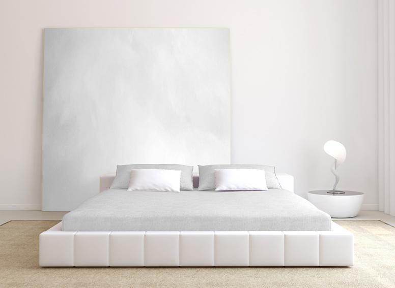 Prostěradlo froté bílé 180x200 cm