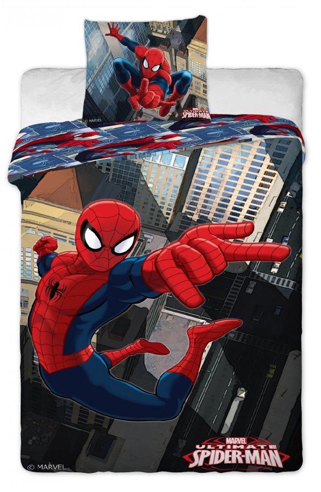 Povlečení bavlna Spiderman 140x200 cm