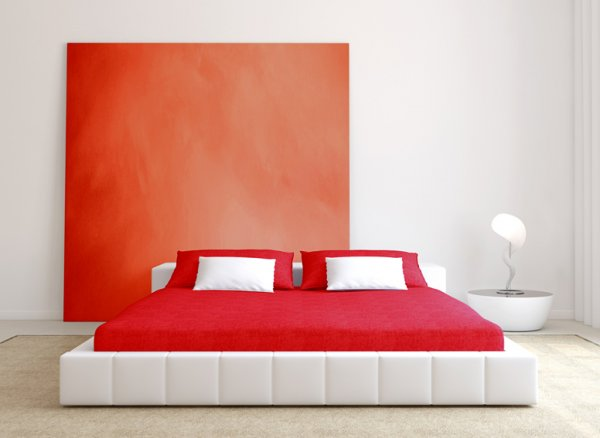 Prostěradlo froté červené 120x200 cm