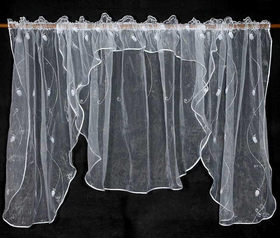 Záclona ROSA 135x400cm