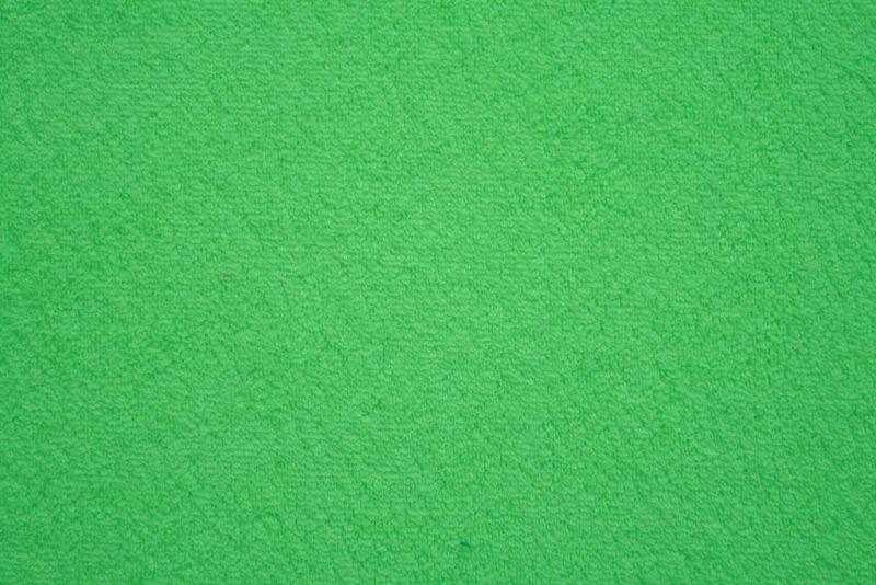 Prostěradlo elastické froté zelené 180x200 cm