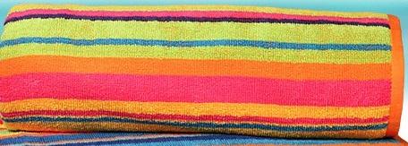 Plážová osuška Pruhy barevné