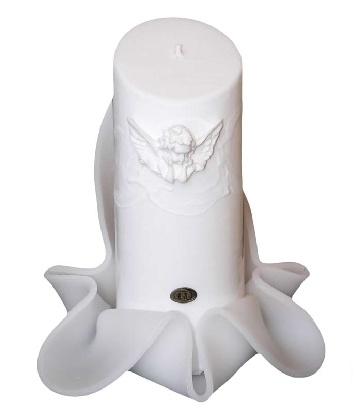 Svíčka bílá - andílek