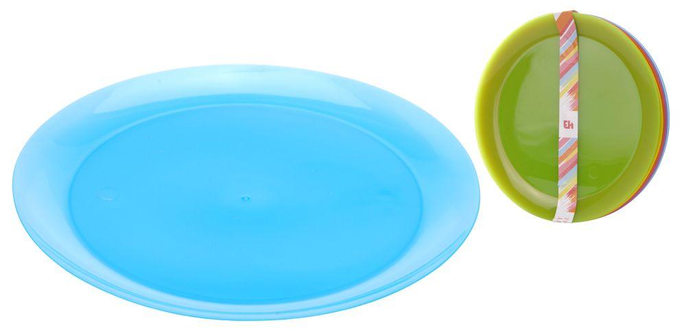 Talíř plastový mělký 21 cm