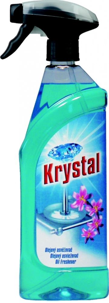 Osvěžovač olejový modrý v rozprašovači Krystal- 750 ml