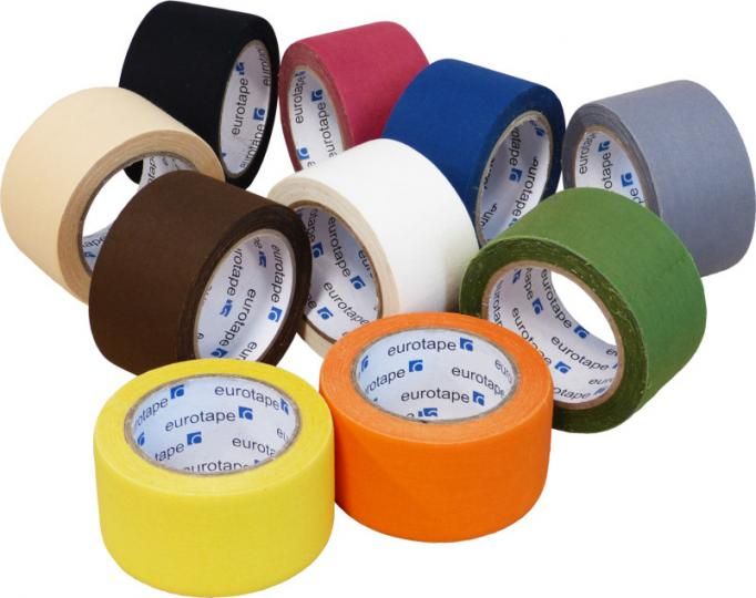 Kobercová páska textilní 4,8cm x 10m Bílá