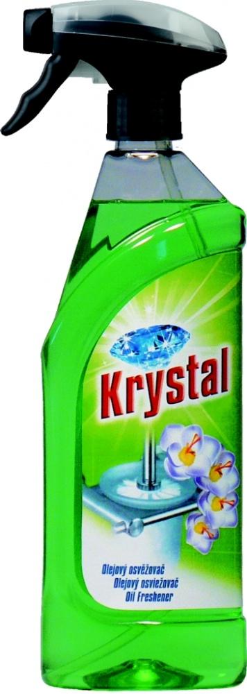 Osvěžovač olejový zelený v rozprašovači Krystal- 750 ml