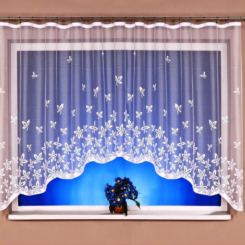 Kusová záclona Glorie 130x300 cm