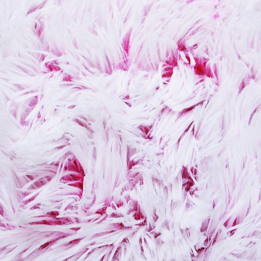 Dlohý vlas - podbarvený růžový