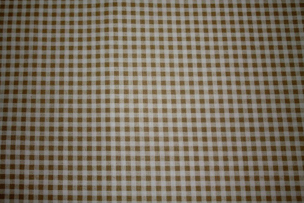 Dekorační látka Bavlna -kostka béžová malá obšít okraje (23 Kč/bm) a našít stužku Small 2,5cm (31 Kč/bm) 160