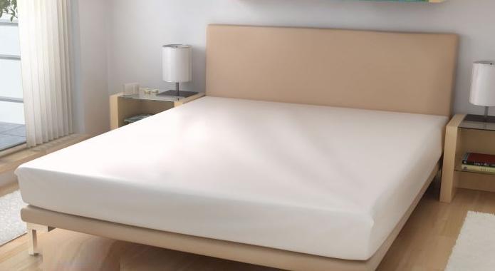 Prostěradlo elastické froté bílé 60x120 cm