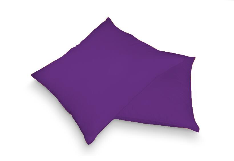 Povlak na polštář tm. fialová 40 x 60 cm - froté