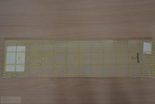 Pravítko PATCHWORK 10x45 cm