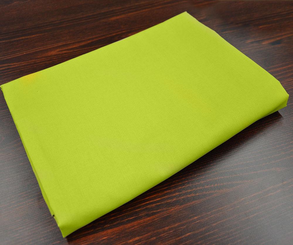 Prostěradlo Bavlna plátno 240 x 140 cm - Zelená