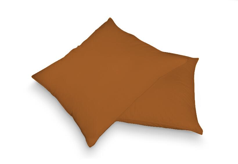 Povlak na polštář hnědá 40 x 60 cm - froté
