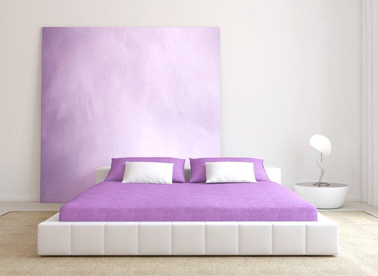 Prostěradlo jersey sv.fialové 200x220 cm