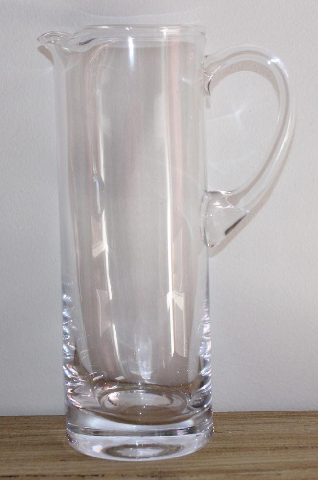 Džbán skleněný vysoký