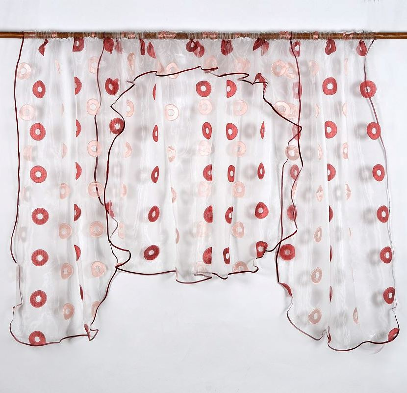 Záclona RUEDA RED 135x400cm
