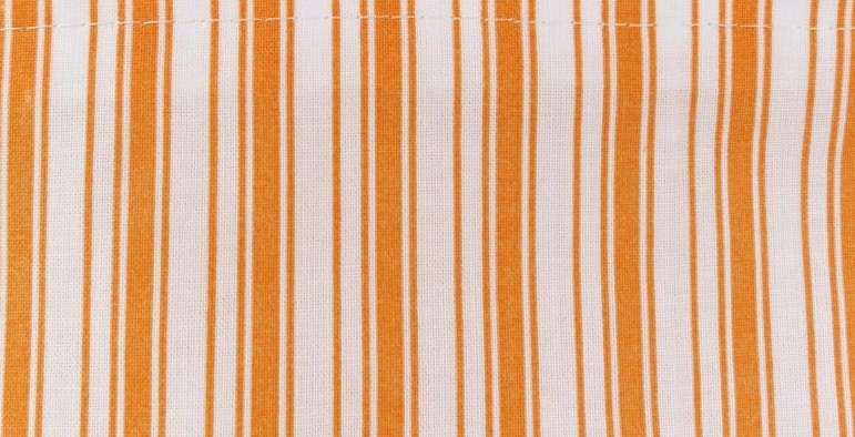 Povlečení krepové proužek oranžový 140x200 cm