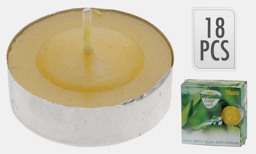 Svíčky čajové proti hmyzu 18 ks