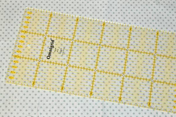Pravítko PATCHWORK 15x30 cm