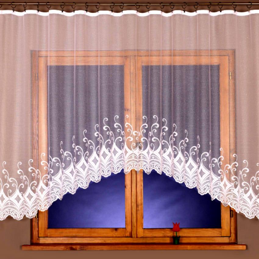 Kusová záclona Costila 90x300 cm