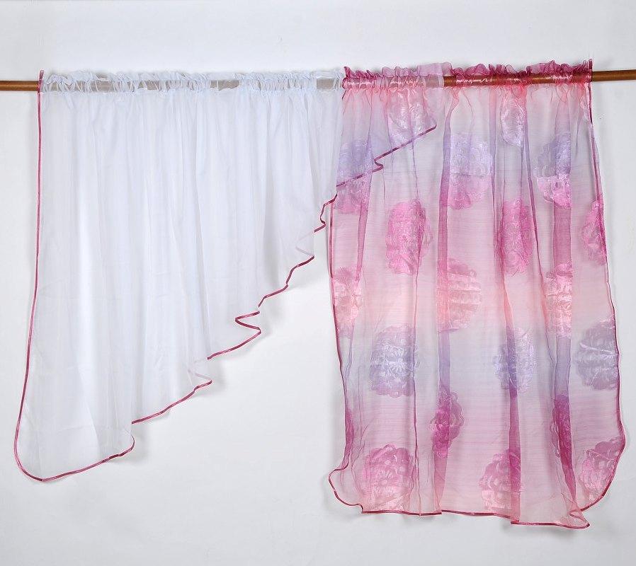 Záclona ROSE VOILE 135x400cm