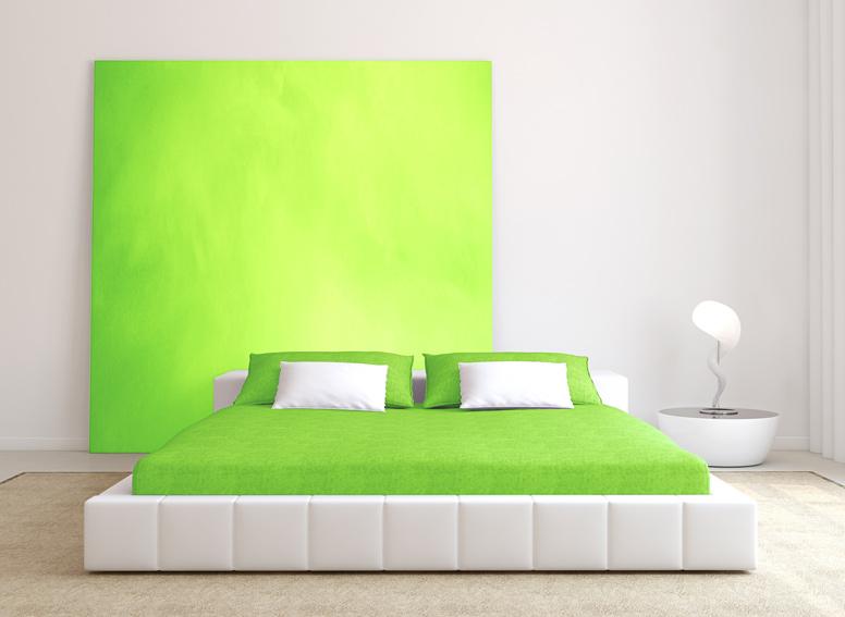 Prostěradlo jersey jarní zelená 60 x 120 cm