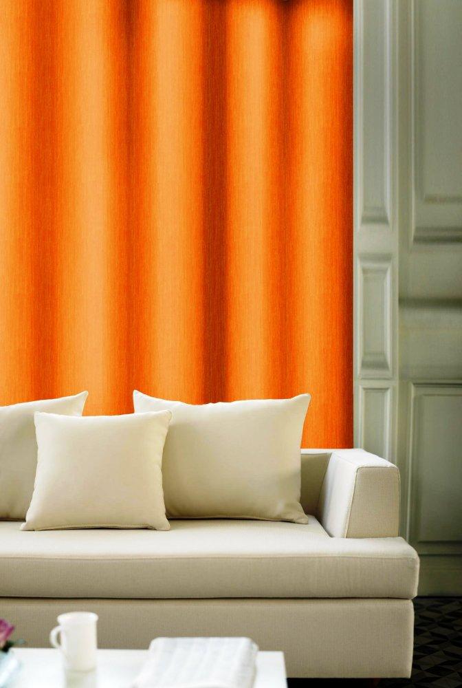 Dekorační látka Dorádo oranžová bez obšití 150