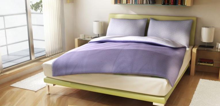 Povlečení bavlna Vende fialové 140x200 cm