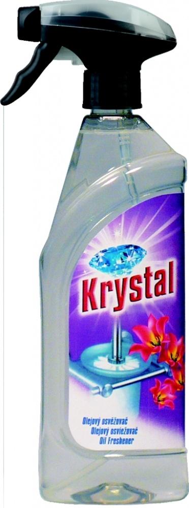 Osvěžovač olejový natur v rozprašovači Krystal -750 ml