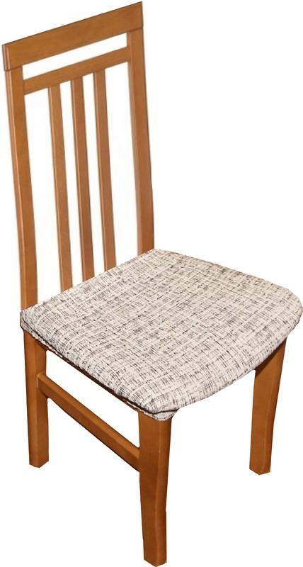 Potahy na židle Andrea - bílo-černá 2 ks