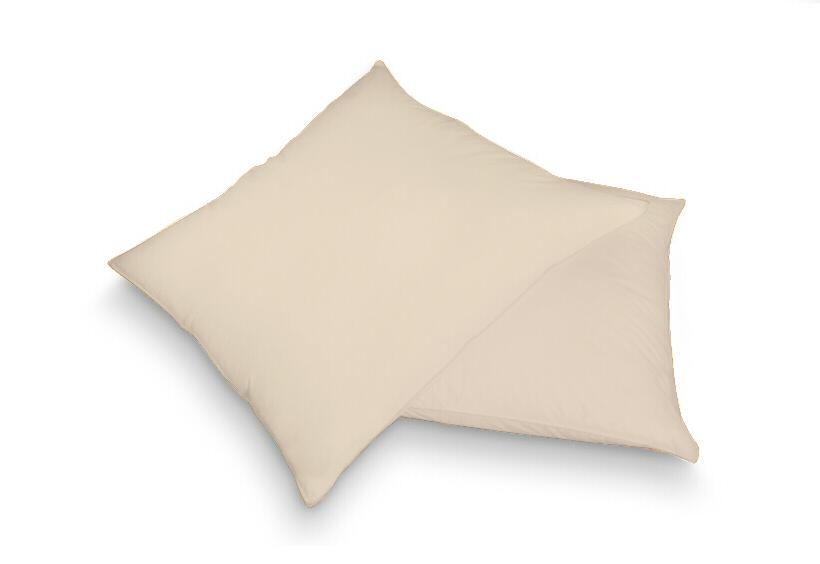 Povlak na polštář béžová 40 x 60 cm - jersey
