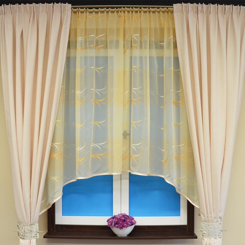 Kusová záclona Draven 110x280 cm
