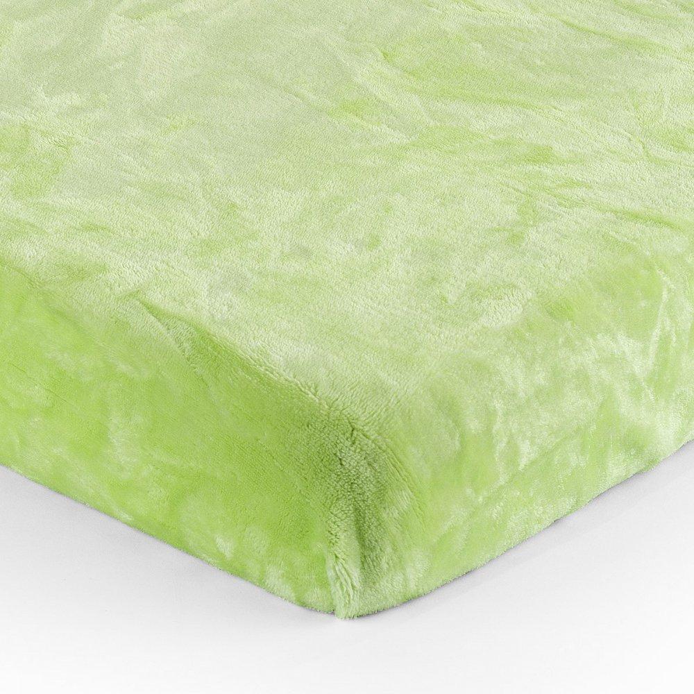 Prostěradlo micro - zelená 180x200 cm