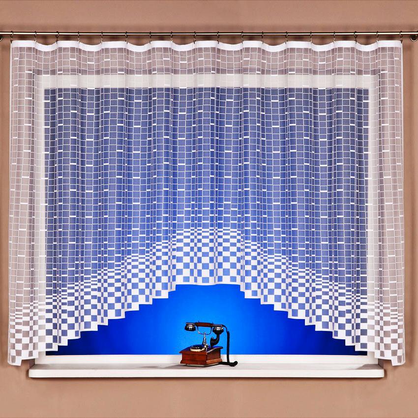 Kusová záclona Kostka 120x300 cm