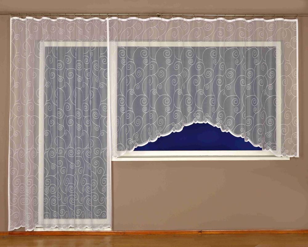 Kusová záclona Loretina 150x300 cm