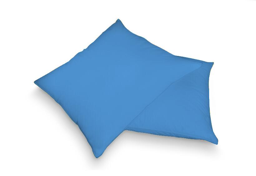 Povlak na polštář modrá 40 x 60 cm - froté