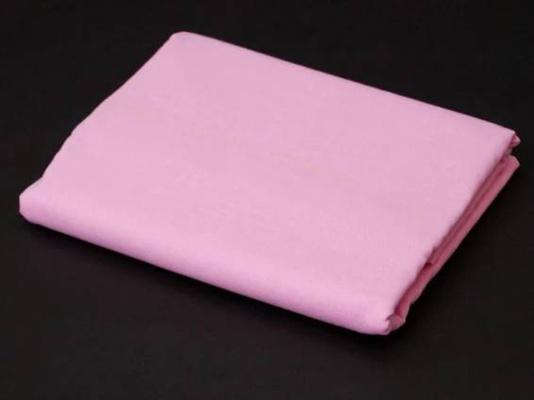 Prostěradlo Bavlna plátno 240 x 140 cm - Růžová