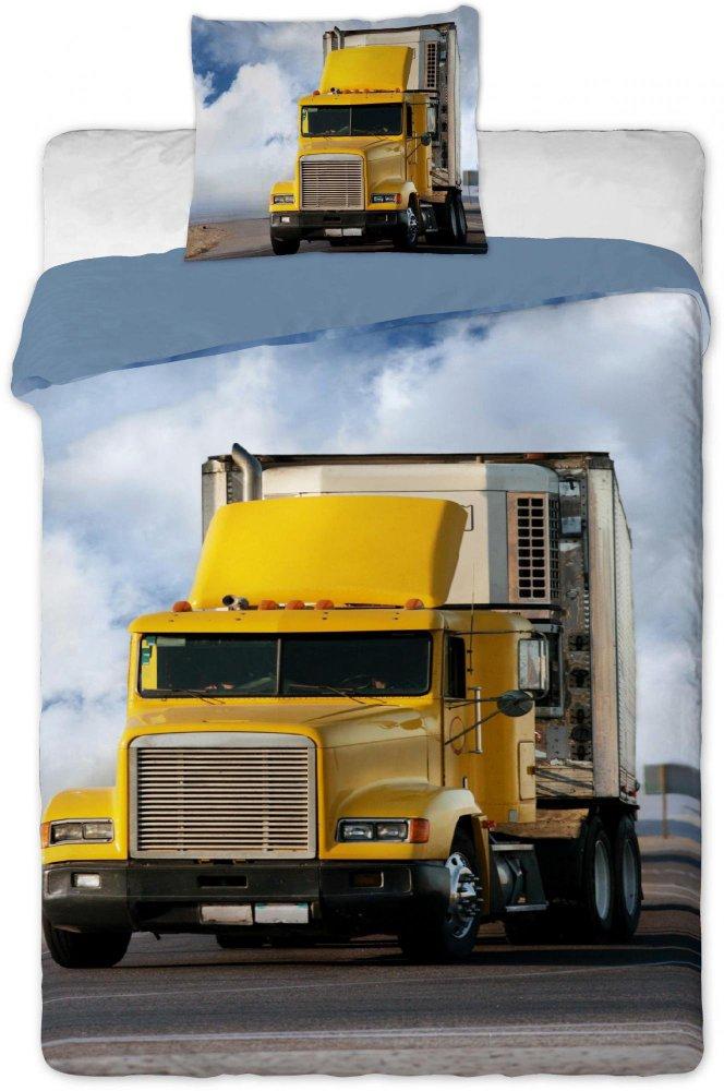 Povlečení bavlna Kamion- 140x200 cm