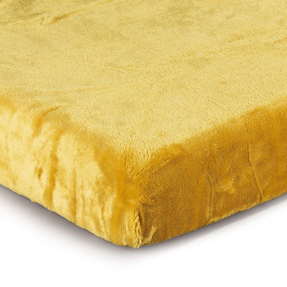 Prostěradlo micro - žlutá 180x200 cm