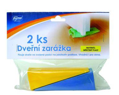 Dveřní zarážka plast 2ks