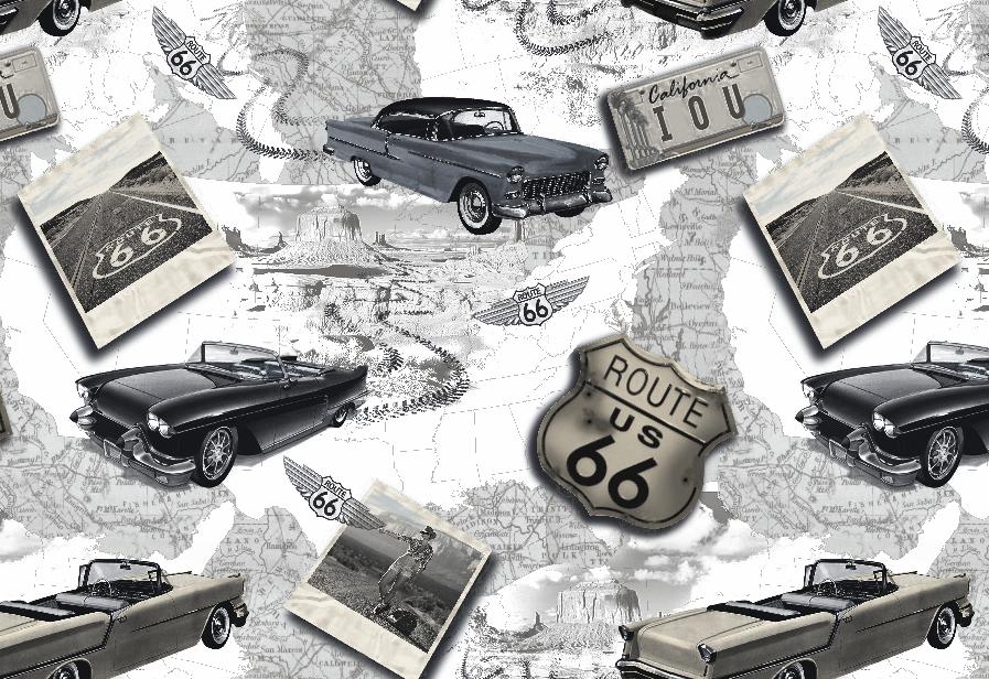 Dekorační látka Oxford auta bez obšití 150