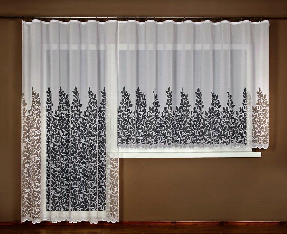 Záclona Debra bez obšití 160