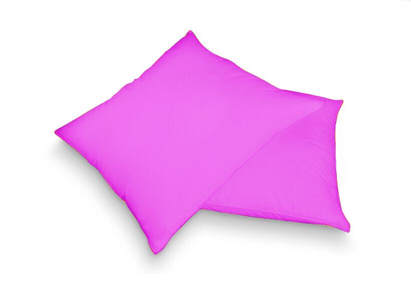 Povlak na polštář růžová 40 x 60 cm - jersey