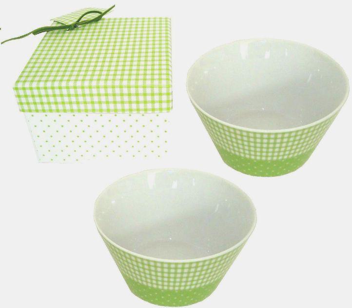 Miska v dárkovém balení - zelená